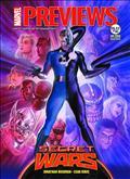 Marvel Previews June 2015 Extras (Net) *Special Discount*