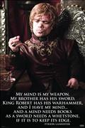 Game of Thrones Tyrion Quote 24X36 Poster (C: 1-1-2)