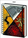 Game of Thrones Crests Notebook (C: 1-1-2)