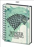 Game of Thrones House Stark Notebook (C: 1-1-2)