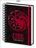 Game of Thrones House Targaryen Notebook (C: 1-1-2)