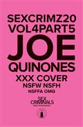 Sex Criminals #20 Xxx Joe Quinones Var (MR)