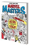 Color Your Own Marvel Masters TP *Special Discount*