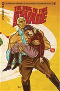 Doc Savage Ring of Fire #4 (of 4) Cvr A Schoonover