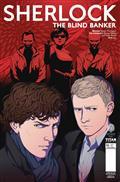 Sherlock Blind Banker #6 (of 6) Cvr A Doubleleaf