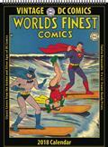 Vintage DC Comics 2018 12 Month Wall Calendar (C: 0-1-0)
