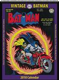 Vintage DC Comics Batman 2018 12 Month Wall Calendar (C: 0-1