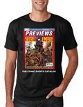 Previews Cover Marvel Secret Empire Blk T/S Lg (Net)