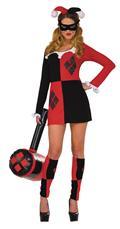 DC Comics Classic Harley Quinn Dress Sm/Med (C: 1-1-1)