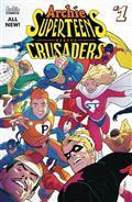 Archies Superteens vs Crusaders #1 Cvr A  Connecting Cvr 1