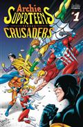 Archies Superteens vs Crusaders #1 Cvr B Grummett