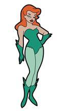 Batman Animated Series Poison Ivy Magnet (C: 0-1-2)