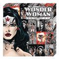 Wonder Woman Profile Metallic Canvas Art (C: 1-0-2)