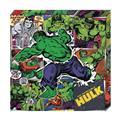 Hulk Action Metallic Canvas Art (C: 1-0-2)