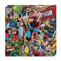 Thor Action Metallic Canvas Art (C: 1-0-2)