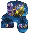 Avengers Iw Thanos Infinity Gauntlet 5950 Fitted Cap 7 3/8 (