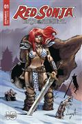 Red Sonja Birth of She Devil #1 Cvr B Davila