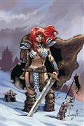 Red Sonja Birth of She Devil #1 10 Copy Davila Virgin Incv (