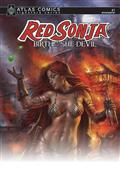 Red Sonja Birth of She Devil #1 Lieberman Sgn Atlas Ed (C: 0