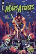 Warlord of Mars Attacks #1 Cvr B D`Alfonso