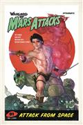 Warlord of Mars Attacks #1 Cvr D Caldwell