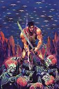 Warlord of Mars Attacks #1 Marc D`Alfonso Virgin Cvr (C: 0-1