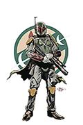 DF Star Wars Age of Rebellion Boba Fett #1 Sgn Pak