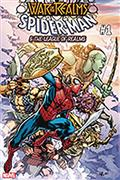DF War of Realms Spiderman League of Realms #1 Sgn Hamner
