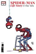 DF Spiderman Life Story #1 Young Var Gold Sgn Romita Sr * Allocations May Occur.