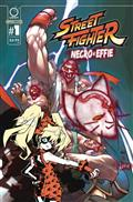Street Fighter Necro & Effie #1 Cvr C 10 Copy Inc Tapper