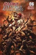 Red Sonja Age of Chaos #6 Cvr B Quah