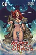 Red Sonja Age of Chaos #6 Cvr C Garza