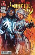 White Widow #6 Cvr A Garza W Foil Logo