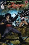 Zorro Galleon of Dead #3 Cvr A Martinez