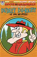 Rocky & Bullwinkle Best of Dudley Doright #1 Ltd Retro Cvr