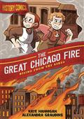 History Comics GN Great Chicago Fire (C: 0-1-0)
