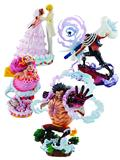 One Piece Logbox Rebirth Statue Fig Bmb 4Pc Asst (Net) (C: 1