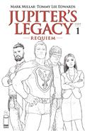 Jupiters Legacy Requiem #1 (of 5) Cvr C Quitely B&W (MR)