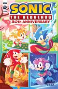 Sonic The Hedgehog 30Th Anniv Spec Cvr A Sonic Team (C: 1-0-