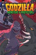 Godzilla Monsters & Protectors #3 Cvr A Dan Schoening