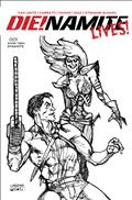 Die!Namite Lives #1 20 Copy Linsner Pencil Art Incv