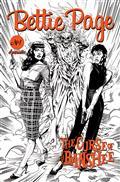 Bettie Page & Curse of The Banshee #1 10 Copy Mooney Pencils