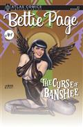 Bettie Page & Curse of The Banshee #1 Linsner Sgn Atlas Ed (