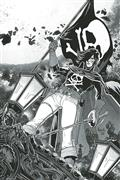 Space Pirate Capt Harlock #1 10 Copy Paquette B&W Virgin Inc
