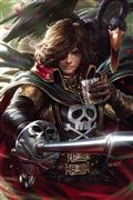 Space Pirate Capt Harlock #1 20 Copy Derrick Chew Virgin Inc