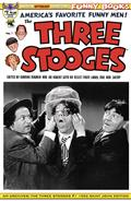 Am Archives Three Stooges #1 1953 Ltd Ed B&W Photo Cvr