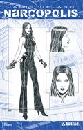 Narcopolis #1 Design Sketch Var (MR) (C: 0-1-2)