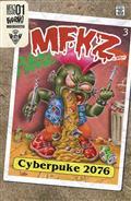 Mfkz #1 10 Copy Cyberpuke 2076 Incv