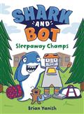SHARK-AND-BOT-YR-GN-VOL-02-SLEEPAWAY-CHAMPS-(C-0-1-0)