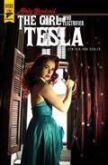 Minky Woodcock Girl Electrified Tesla #3 Cvr B Photo (MR)